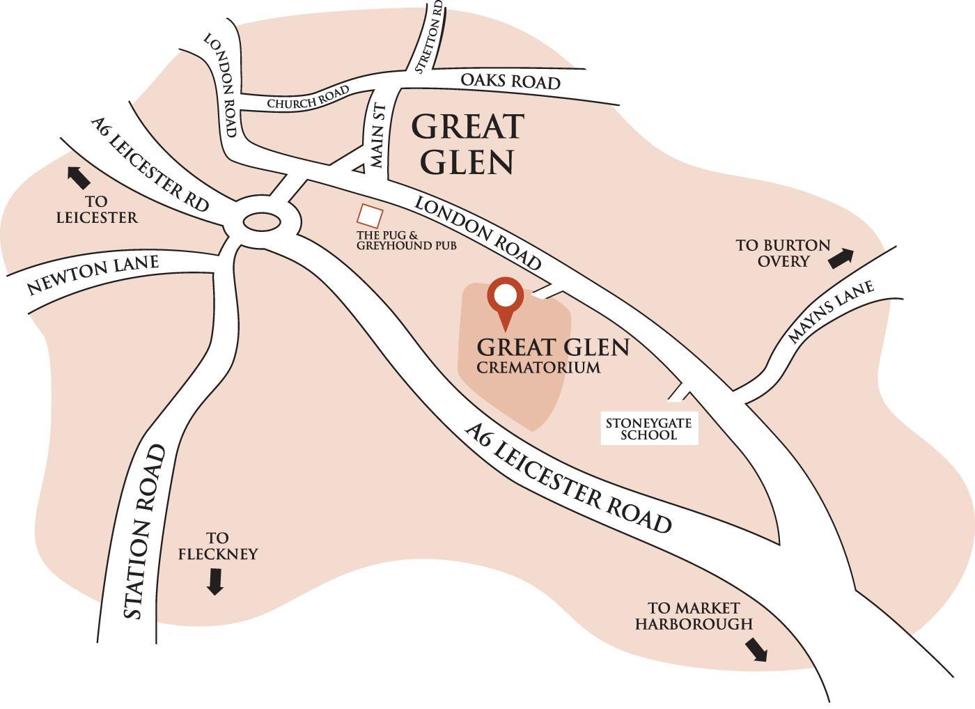 Find Home Plans Crematoria Great Glen Crematorium J Stamp And Sons